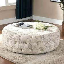 cream ottoman coffee table medium size of tufted large