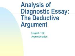philosophy logic and logical arguments ppt video online  analysis of diagnostic essay the deductive argument english 102 argumentation