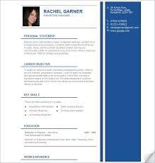 Resume Builder: Free Resume Builder: MyPerfectResume com
