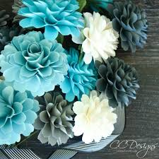 Dahlia Flower Making With Paper Small Dahlia Paper Flower Template Diy Paper Flowers Paper Wedding Bouquet Svg And Pdf Flower Pattern Instant Download