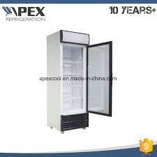 upright freezer showcase upright glass door freezer glass door fridge