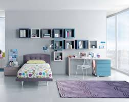 Bedroom:Dark Gray Modern Teenage Girl Bedroom With Corner Desk Also  Decorative Pendant Lamp Modern