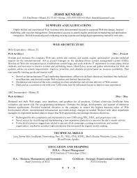 Architect Resume Objective Sample