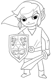 Select from 35450 printable crafts of cartoons, nature. To Print This Free Coloring Page Coloring Legend Of Zelda Free Photos