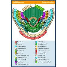 Conclusive Dodger Stadium Concert Seating Chart Dodger