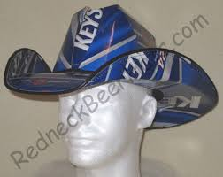 Bud Light Box Cowboy Hat Buy Beer Cowboy Hat Made From Recycled Keystone Light Beer