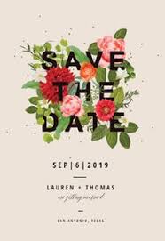 Blank Save The Date Cards Save The Date Card Templates Free Greetings Island