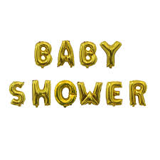 baby shower banners 10pcs baby shower balloons gold silver letters balloon banner baby