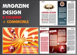 Vector Brochure and magazine layout design set 03 - Vector Cover ...