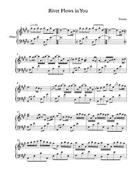 Preview river flows in you yiruma sheet music easy piano is available in 2 pages and compose for intermediate difficulty. River Flows In You Easy Piano Sheet Music Free Best Music Sheet