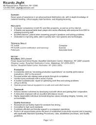 Warehouse Resume Template Extraordinary Warehouse Resume Sample Warehouse Resume Sample Free Warehouse