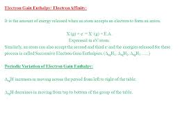 Periodic Properties of Elements in the PT The properties of the ...