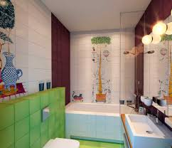 Kids Bathroom Tile Bathroom Inspiring Kids Bathroom Design Plans With Nice Flooring