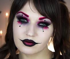 harley quinn clown makeup
