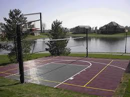 home basketball court design. Backyard Sports Court Sport Of Iowa Basketball With Regard To Home Design Ideas Impressive Ones O
