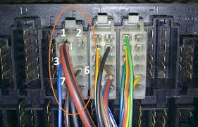 how to tdi wiring part engine end page vw t forum suffice to say that this should be connected to d on the alternator itself the wire is plain blue and is connected to pin 3 of fusebox connector f as