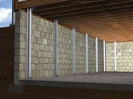 graphic render of an installed i beam system home