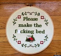 Funny Cross Stitch Patterns Free Awesome 48 Hilariously NSFW Cross Stitches You Won't Find In Grandma's House