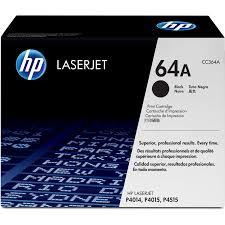 <b>HP</b>, HEWCC364A, <b>64A</b> (<b>CC364A</b>) Toner Cartridge, 1 Each ...