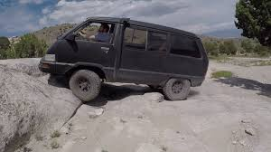 1987 Toyota Van LE 4x4 Turbo in Little Moab, Utah - YouTube