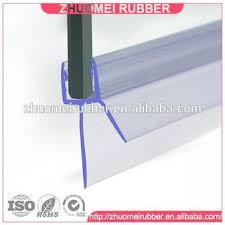frameless shower door seal 5 shower door sweep bottom seal wipe drip rail frameless shower door