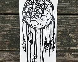 Personalized Spinning Dream Catcher Dream Catcher Decal Etsy Studio 45