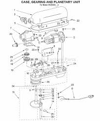 Kitchenaid Stand Mixer Repair Parts Ppi Blog