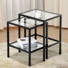 good metal and glass end tables in home decorating ideas with images with marvelous wood glass metal end tables and side table black gold e