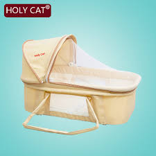 Holycat Baby bed Newborn Baby Bassinet Folding Portable Sleeping ...