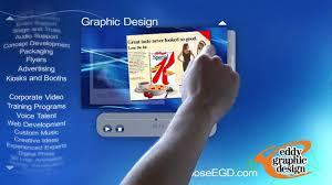 Eddy Graphic Design Eddy Graphic Design Promo Touch Screen Youtube
