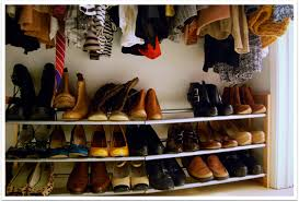 bed bath and beyond closet organizer shoe racks for closets closet organization