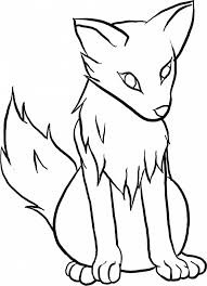 cute simple wolf drawing. Beautiful Wolf Cute Wolf Pup Drawing At GetDrawings With Simple