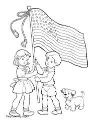 Different Color American Flag Meaning United States Flag To Color