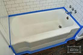 clawfoot bathtub refinishing kit refinish tub antique refinished