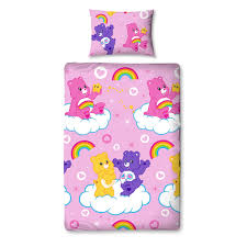 care bears single duvet set