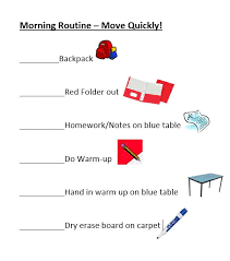 Classroom Routine Chart Behavior Contracts And Checklists That Work Scholastic