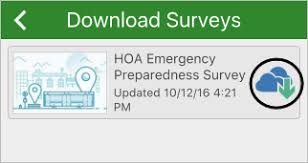 Surveys Download Complete And Submit The Survey Get Started With Survey123 For Arcgis