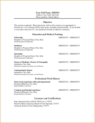 Medical Doctor Resume Skills Based Format Freshers For