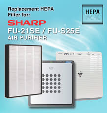 sharp dehumidifier. replacement hepa filter for sharp fu-21se / fu-s25e fu-425e dehumidifier