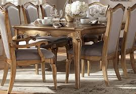 Sale Homelegance Chambord Dining Table In Gold 1828 92