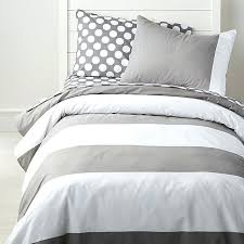 black and white striped duvet grey and white striped duvet cover crate barrel within covers decorations