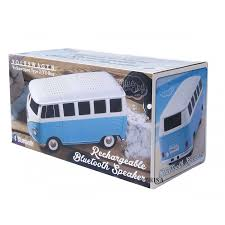 Vw T1 Bus Bluetooth Luidspreker Blauw