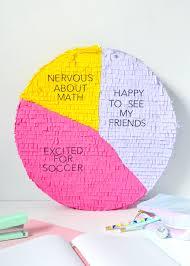 Pie Chart Back To School Pinata Handmade Charlotte