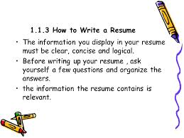 Questions to Ask Yourself before Sending a Resume