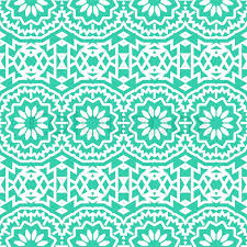 Bohemian Pattern Fascinating Vector Seamless Bohemian Pattern With Abstract Big Tribal Flowers