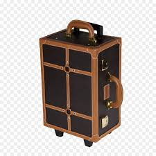 inglot cosmetics suitcase make up artist trolley brown suitcase