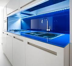 led kitchen lighting. modern kitchen with blue led lighting led