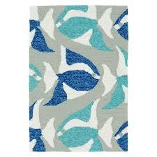 sea isle blue 5x8