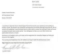 testimonials casper funeral cremation services massachusetts thank you letter testimonial009 testimonial009 i