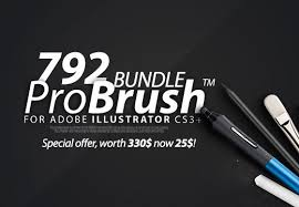 the probrush bundle with 792 brushes bonus only 25